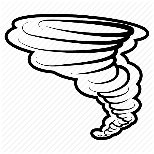 512x512 Drawing, Wind, Thunderstorm, Transparent Png Image Clipart Free