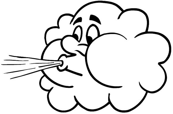 600x396 Bohimian Wind Drawing, Blowing Wind, Windy Weather