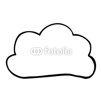 400x400 Line Drawing Cartoon Weather Cloud Buy Photos Ap Images