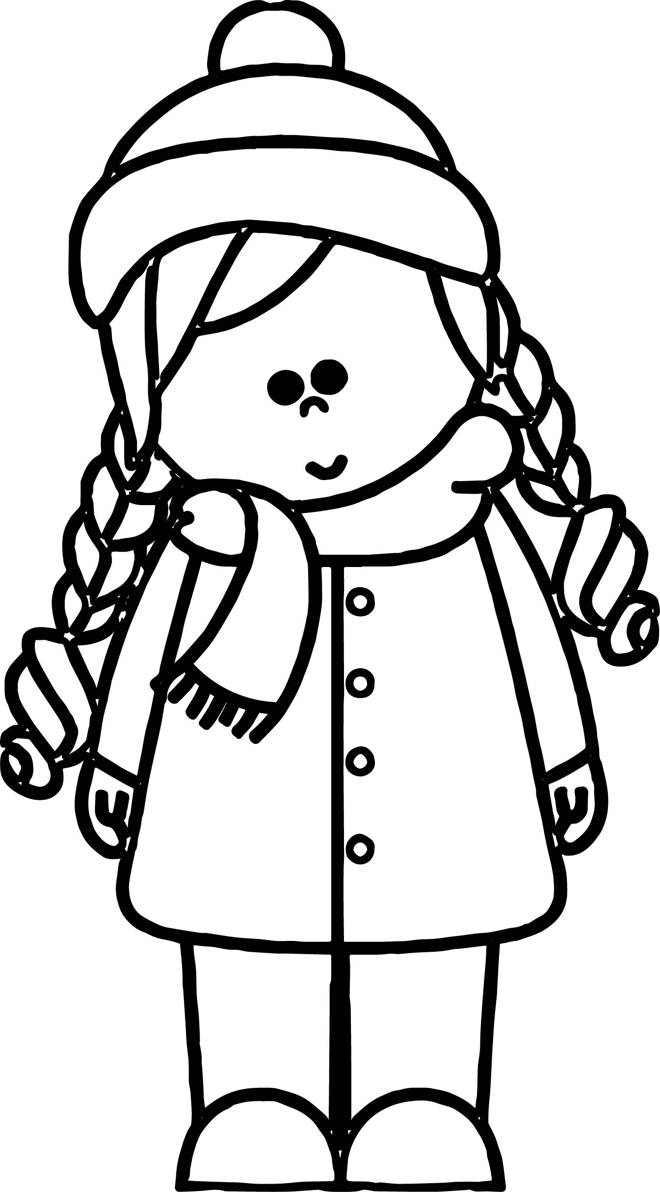 1345x2426 Cold Weather Girl Kids Coloring