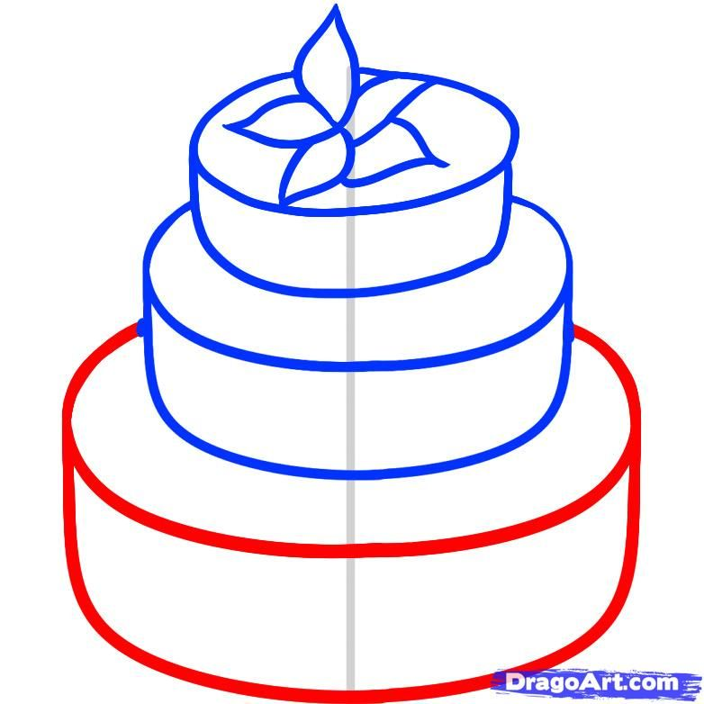 782x782 how to draw a wedding cake crafts and diy cake sketch, cake