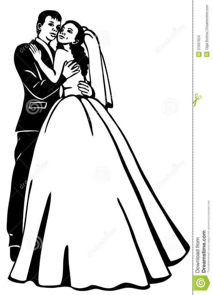 739x1024 wedding couple drawing images tips wedding ideas