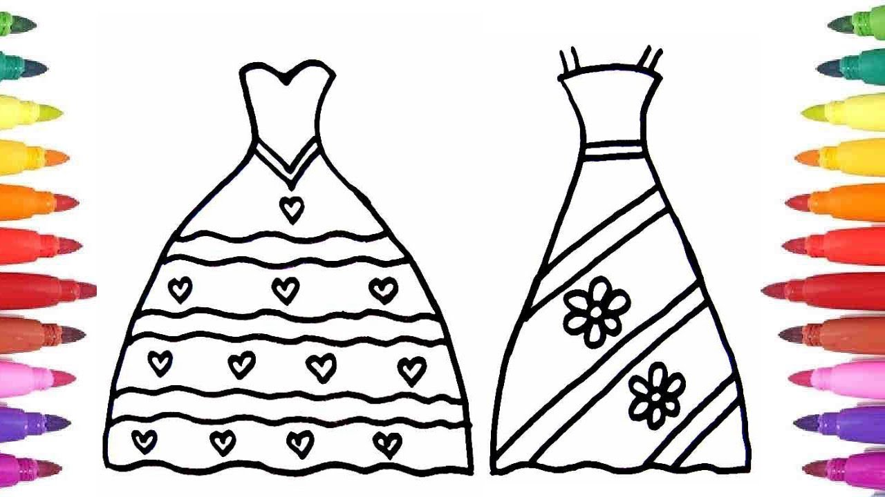 1280x720 How To Draw Wedding Dresses