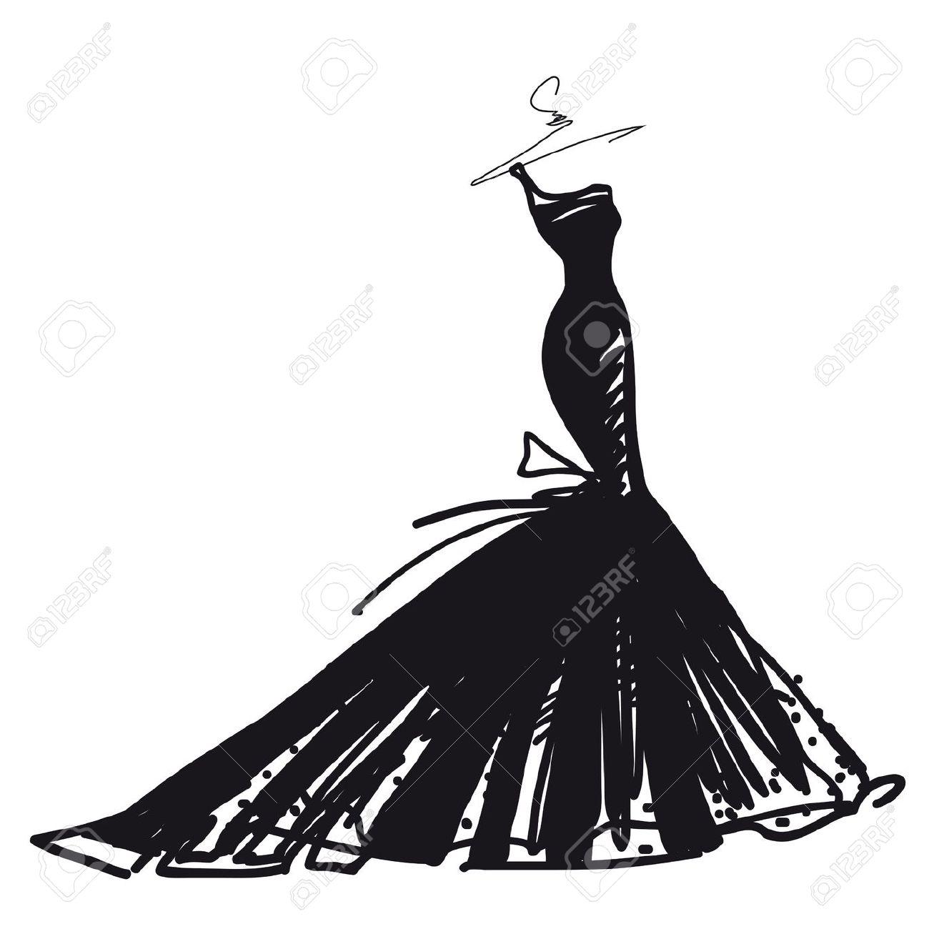 1300x1300 Wedding Dress Clipart For Free Clip Art