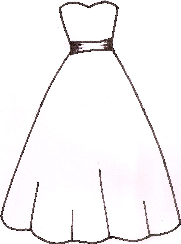 1112x1498 Wedding Dress Template