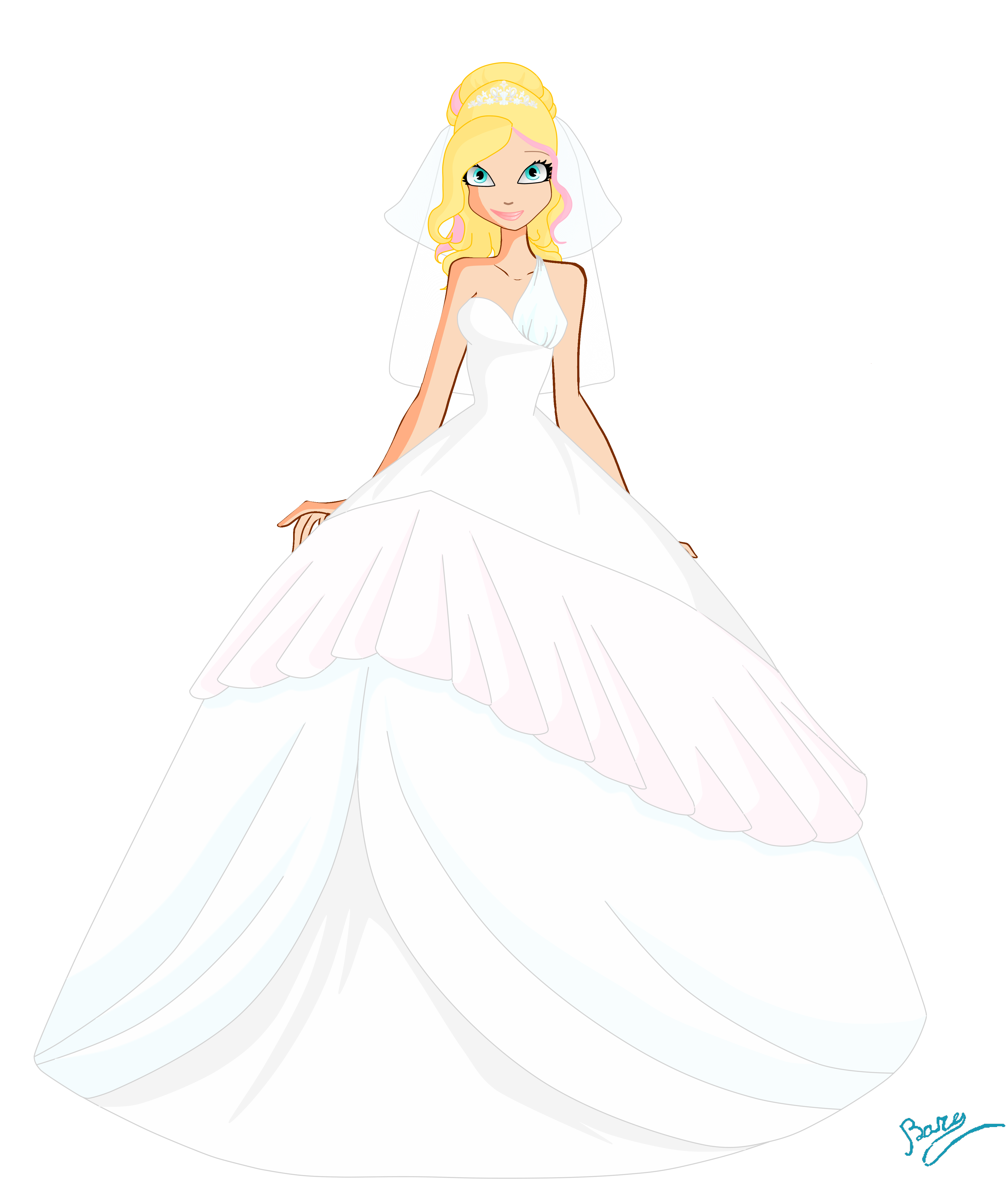 3800x4474 Collection Of Free Dress Drawing Wedding Download On Ui Ex