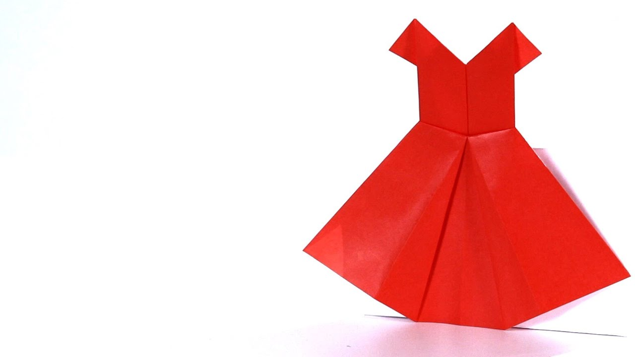 1280x720 How To Make A Dress Origami
