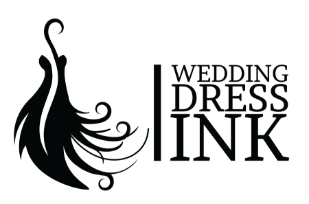 450x297 Wedding Dress Illustrations From Wedding Dress Ink