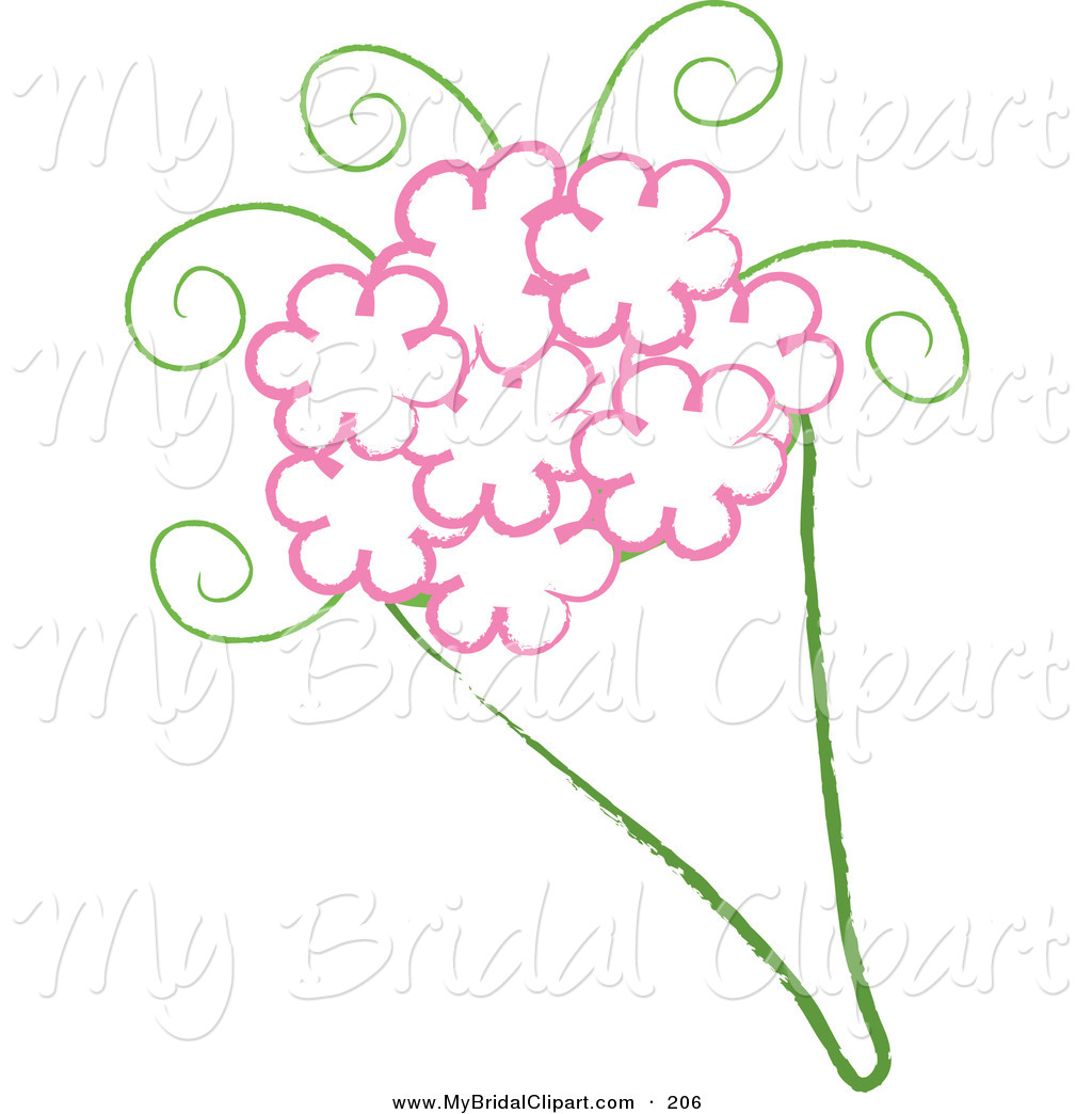 Wedding Flowers Drawing