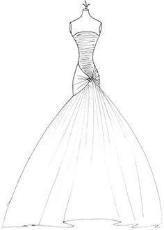 236x330 Designing Dresses Drawing