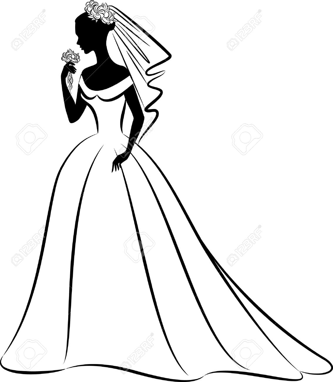 1134x1300 Wedding Veil Clipart Clip Art