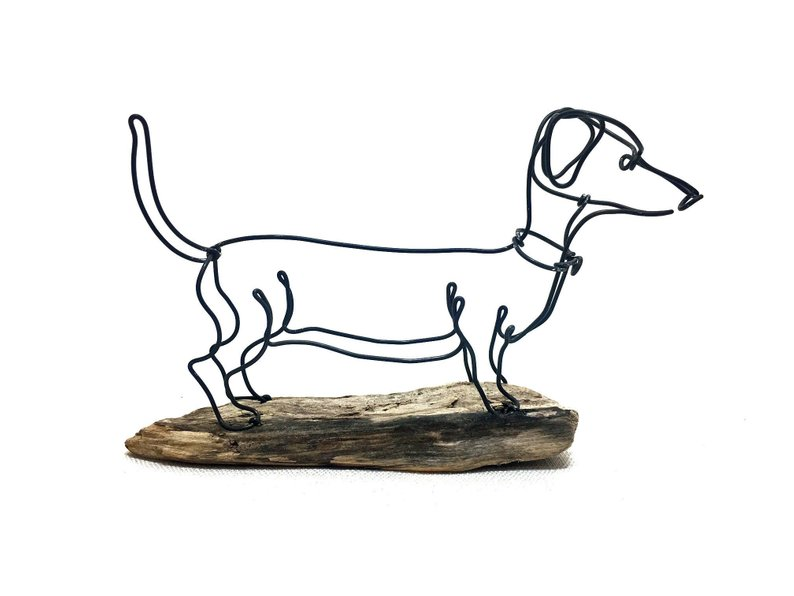 794x596 dog art dachshund dog wire sculpture dog wire art dog etsy