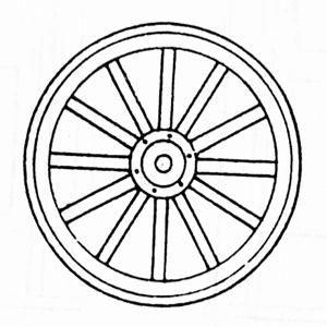 300x300 image result for wagon wheel drawing tattoos wagon wheel image
