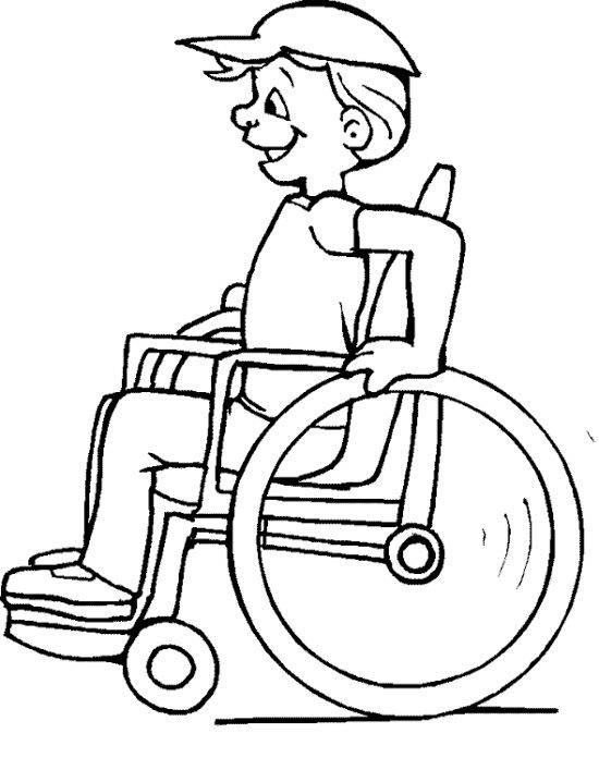 Wheelchair Drawing