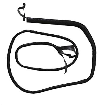 355x355 black whip explorer prop lion tamer fancy dress accessory