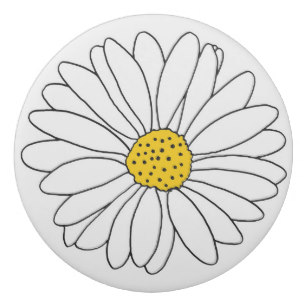 307x307 Black And White Daisy Drawing Gifts On Zazzle Ca