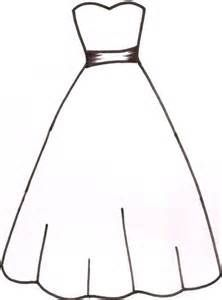 White Dress Drawing
