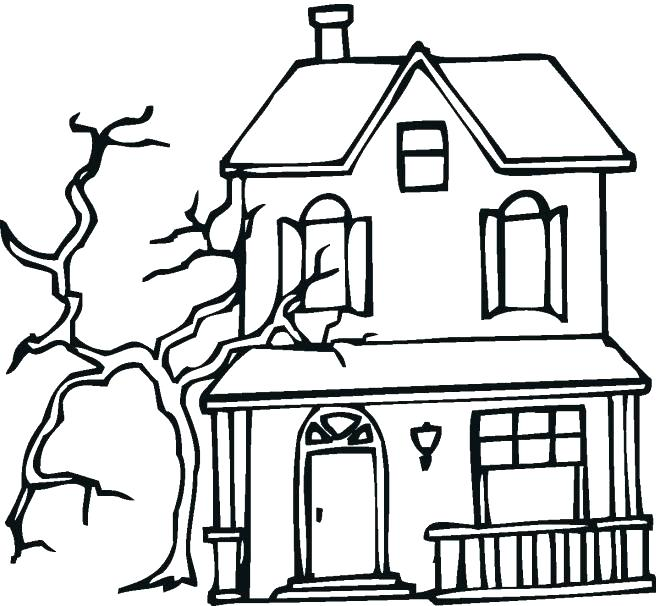 660x606 white house coloring pages house coloring pages to print house