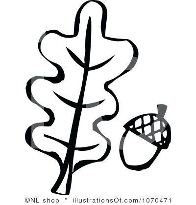 400x420 oak leaf outline oak leaf outline template
