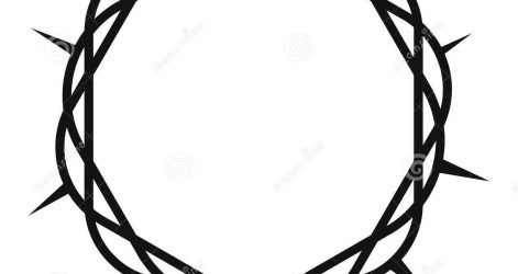 471x250 Crown Drawing King Cute Simple A Black And White Outline Angel I