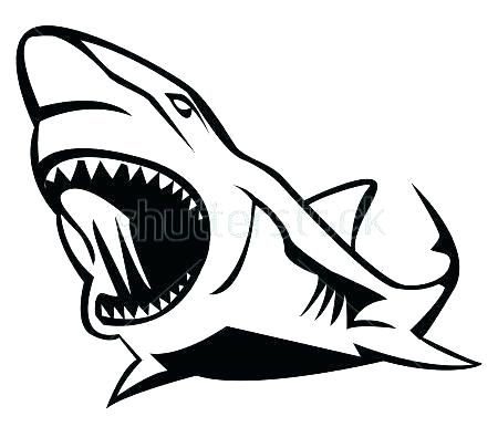 450x386 great white shark outline great white shark great white shark