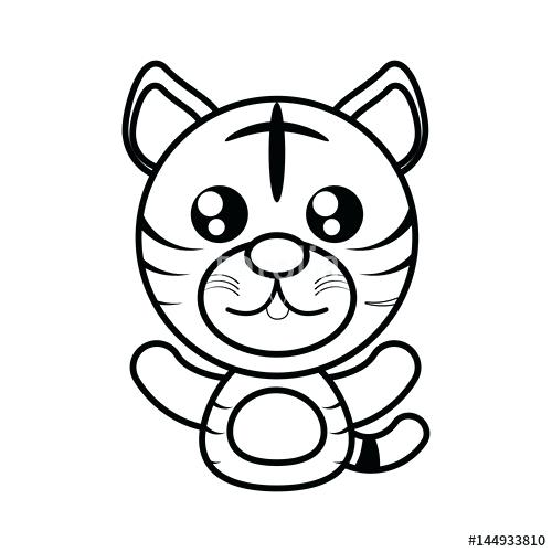 500x500 tiger outline drawing white tiger tiger outline tiger face outline