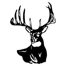225x225 Beautiful Whitetail Deer Clip Art Charte