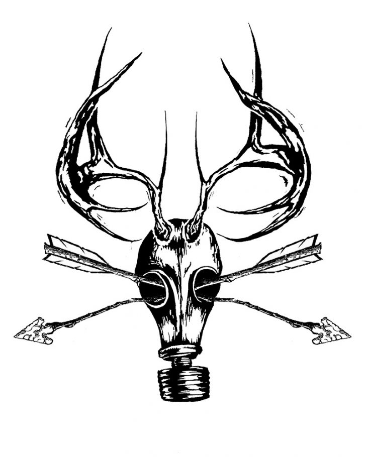 728x910 Christmas Deer Drawing Easy Baby Whitetail Face Skull Mule I