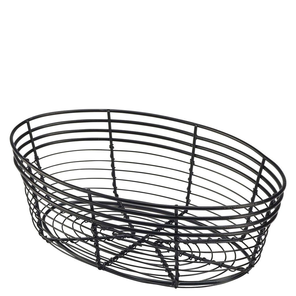 1024x1024 Wicker Bread Baskets, Kitchen Food Display Baskets, Wire Fruit