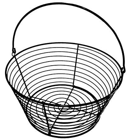 418x450 Rite Farm Products Wire Basket Egg Dozen
