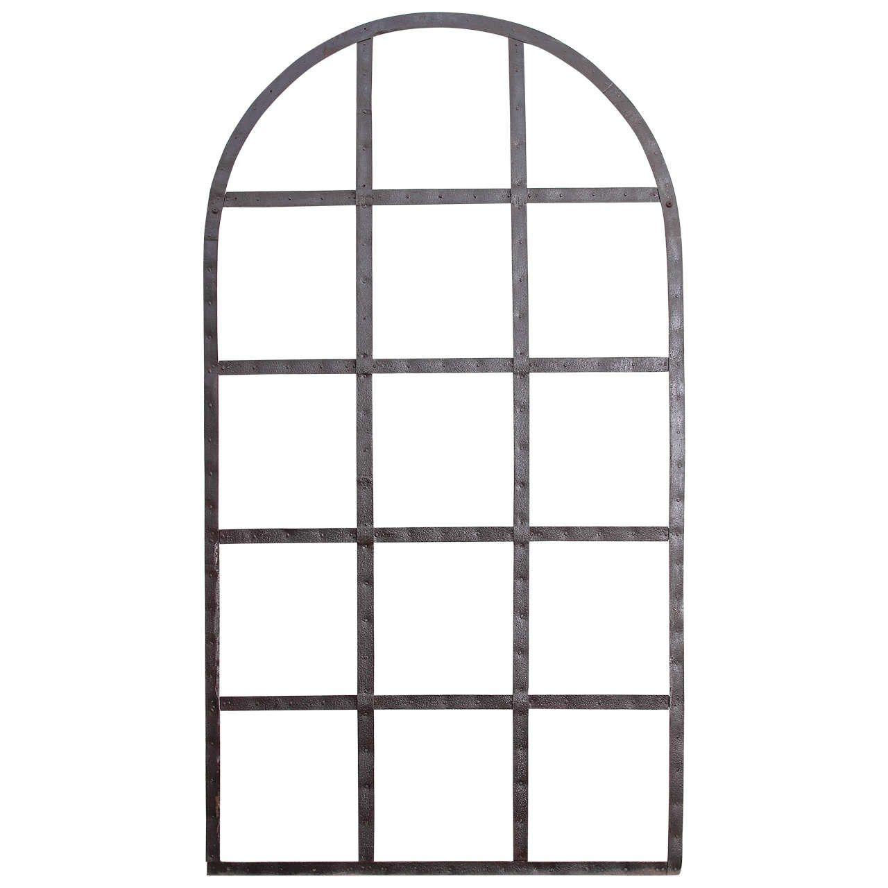 1280x1280 Industrial Window Frame Garden Trellis, Circa Abby's Barn