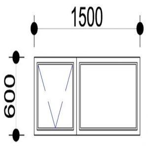 300x300 Top Hung Aluminium Windows