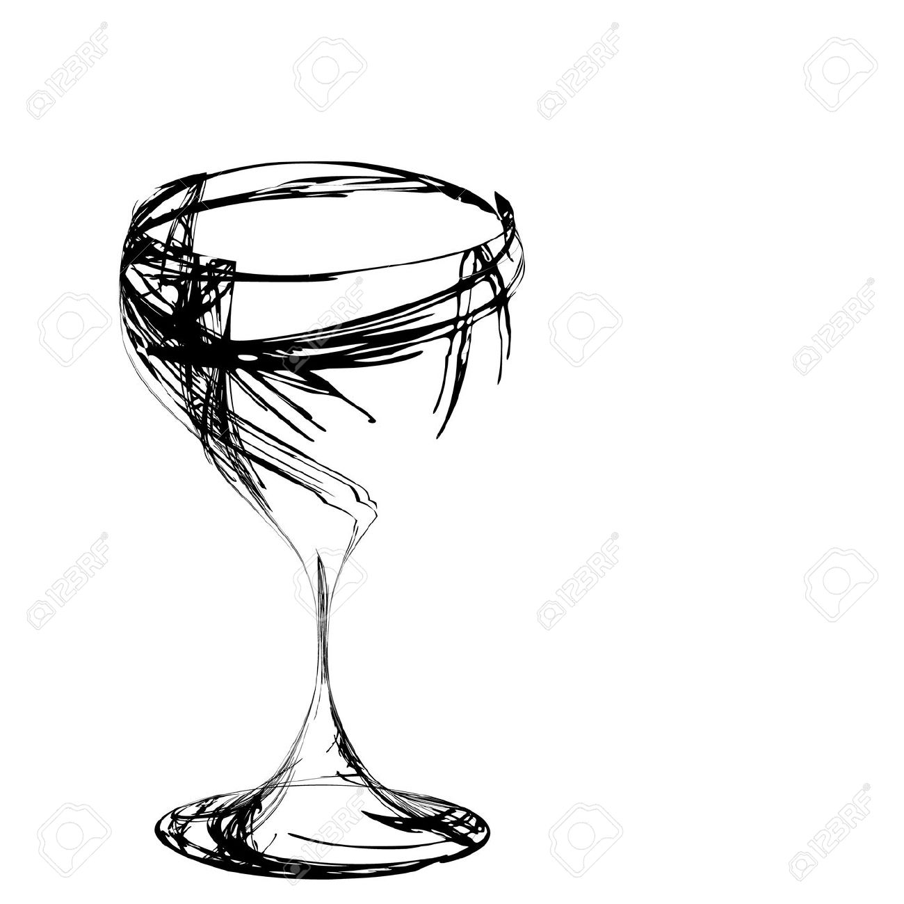 1300x1300 drawing of wine glass wine glass drawing free wine information