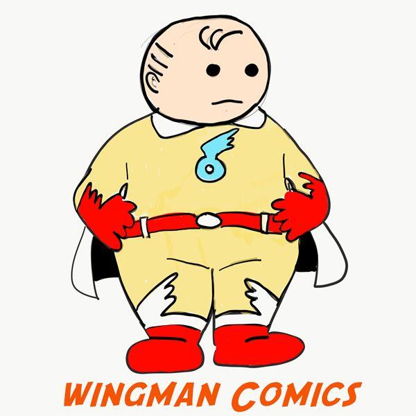 600x600 wingman comics digital comics