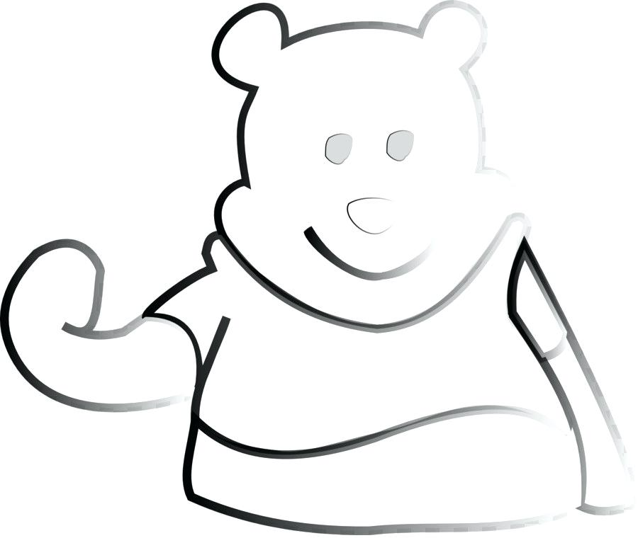 900x760 drawing of winnie the pooh drawing line art cartoon the pooh pooh