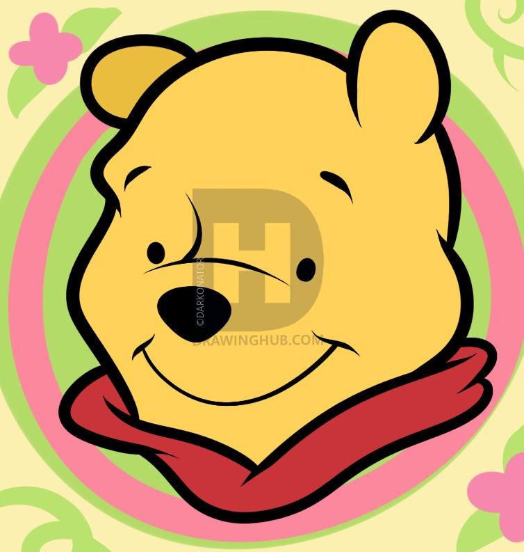 754x793 How To Draw Winnie The Pooh Easy, Step