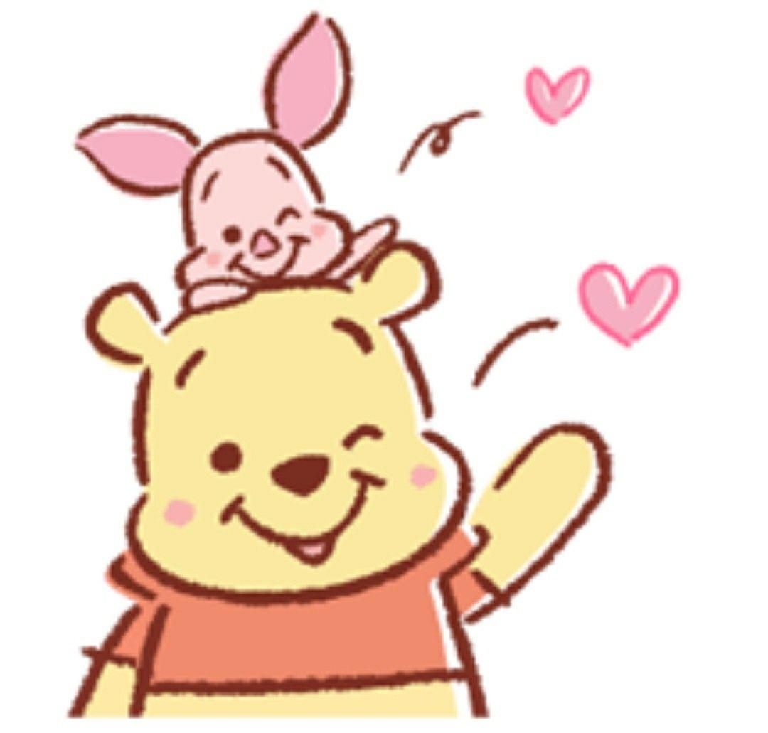 1080x1031 Piglet Et Pooh Winnie The Pooh, Winnie The Pooh Gif