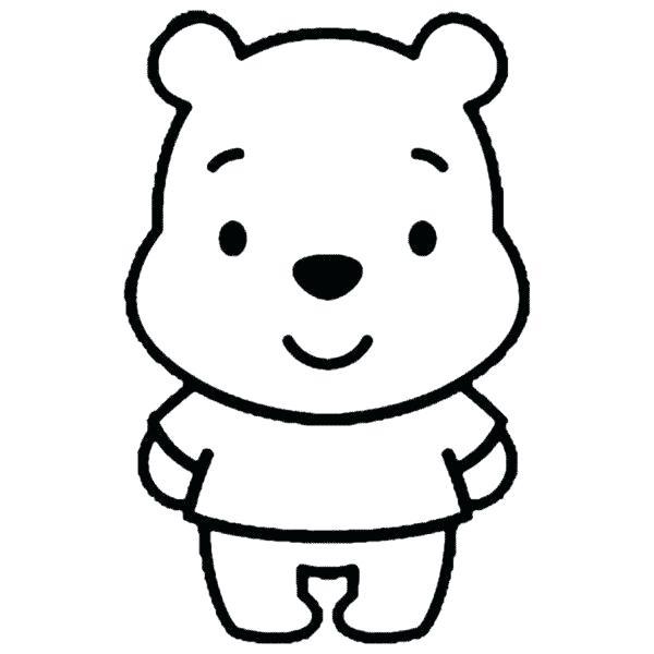 600x600 Winnie The Pooh To Draw