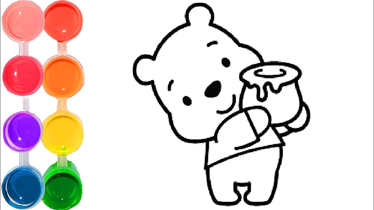 1280x720 Baby Winnie The Pooh Drawing How To Draw