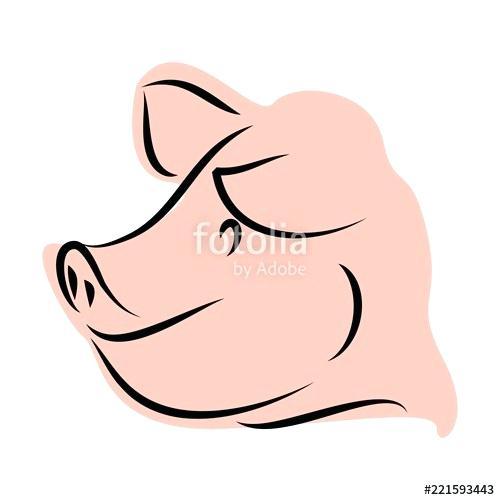 500x500 Cute Pig Drawings Pig Cartoon Cute Piglet Drawings Winnie The Pooh