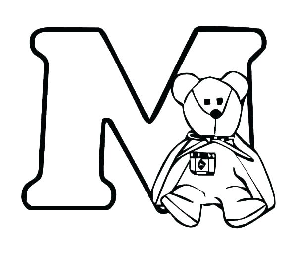 600x514 preschool m coloring pages bear coloring pages preschool bear