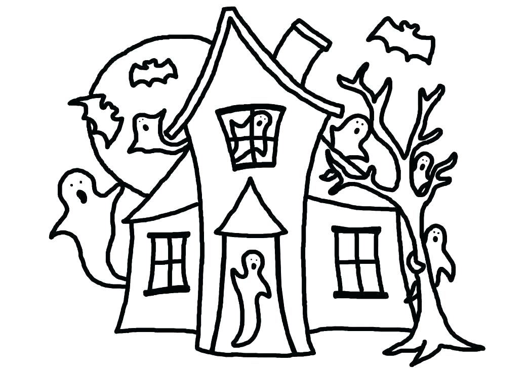 1043x738 White House Coloring Sheet