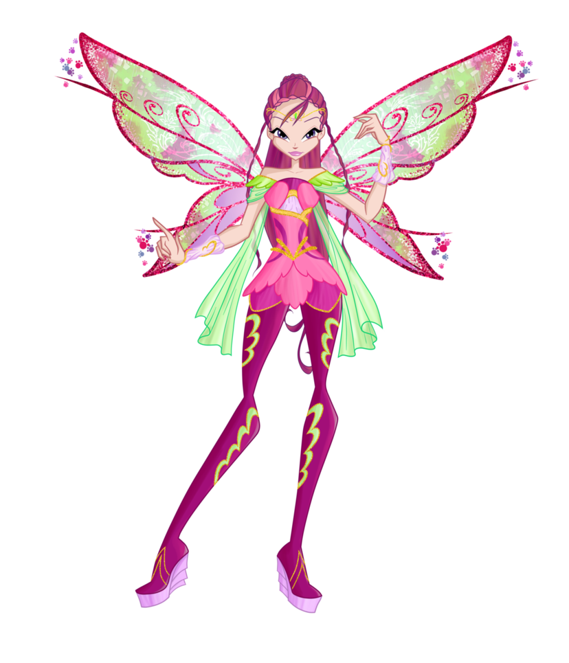 Winx Club Flora Drawing Free Download On Clipartmag