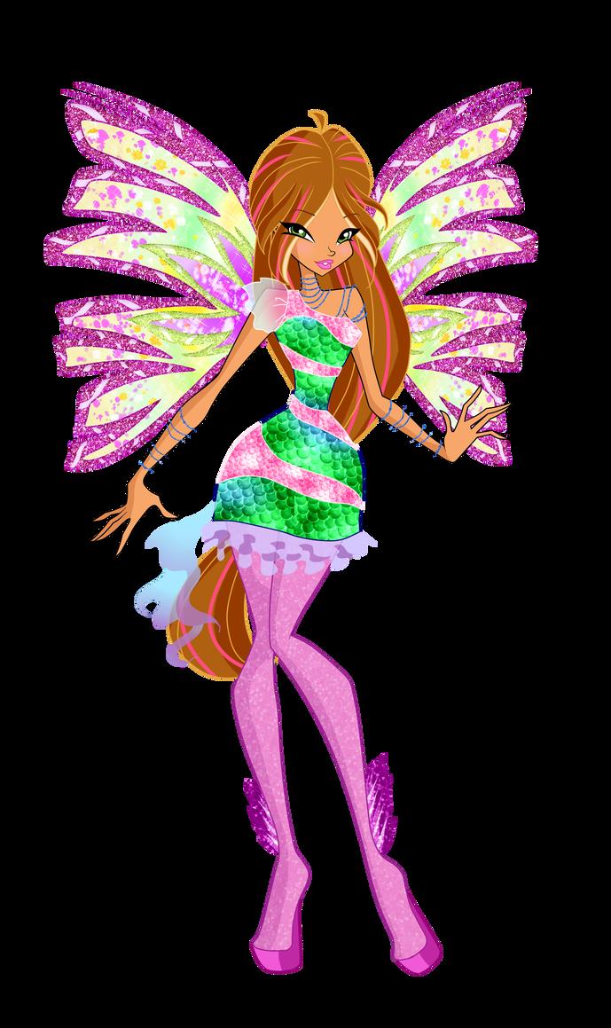 Winx Club Flora Drawing Free Download Best Winx Club Flora