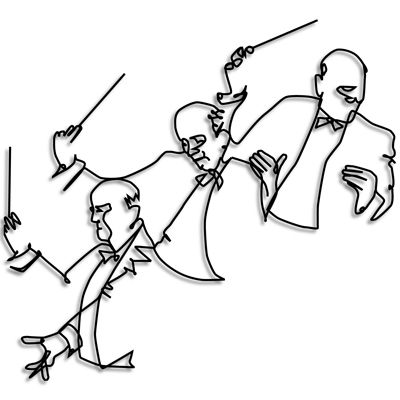400x400 wire art of conductors music wire art wire wall art, wire art