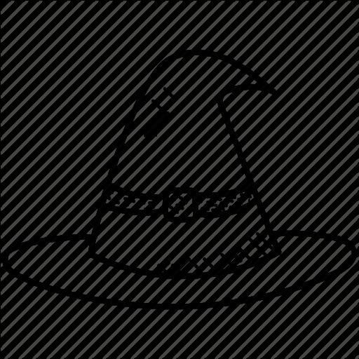 512x512 halloween cap, hat, whichcraft, witch, witch hat icon