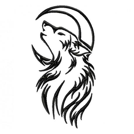 458x458 Wolf Moon Tattoo