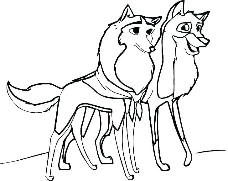 728x577 Cute Wolf Pup Drawings