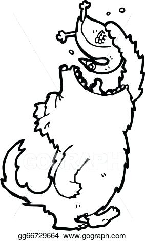 283x470 big bad wolf drawing cartoon big bad wolf big bad wolf line