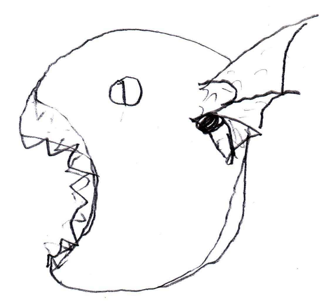 Wolf Ears Drawing